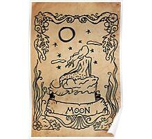 Mermaid Tarot: The Moon Poster