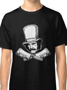 The Butcher (purist Black and White version) Classic T-Shirt