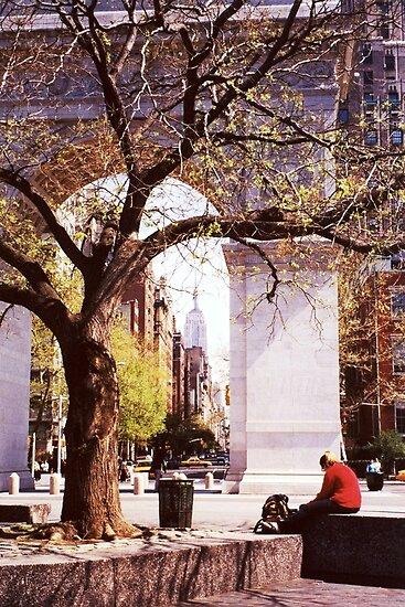 Spring In Washington Square, New York, NY by artwhiz47