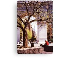 Spring In Washington Square, New York, NY Canvas Print