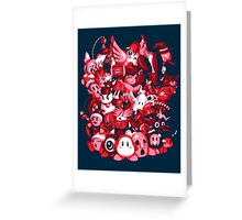 Dream Land Delinquents Greeting Card