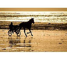 Horse Training Photographic Print