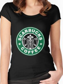 Scarbucks Women's Fitted Scoop T-Shirt