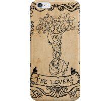 Mermaid Tarot: The Lovers iPhone Case/Skin