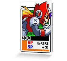 Zero Greeting Card