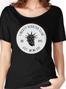 Liberty Scooter Club Women's Relaxed Fit T-Shirt
