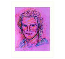 Matthew McConaughey Art Print