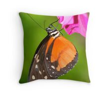 Butter Fly Throw Pillow