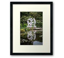 Alligator Bender Framed Print
