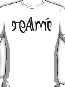 Real Me / Image ambigram T-Shirt
