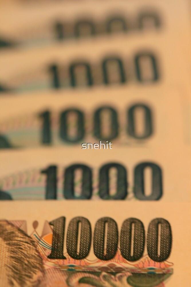 Ten Thousand Yens by snehit