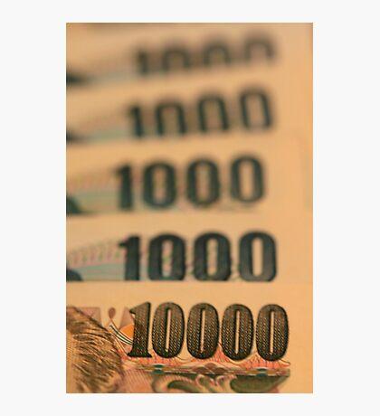 Ten Thousand Yens Photographic Print