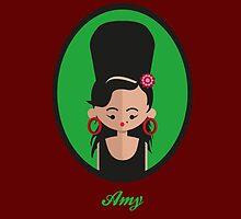 Amy Winehouse by julianamotzko