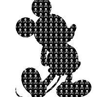 Crossbones Mickey by taycobb