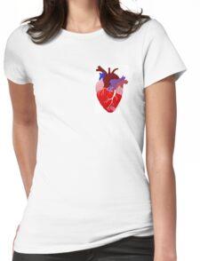 Broken Heart Womens Fitted T-Shirt