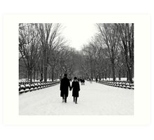 Central Park, New York City Art Print