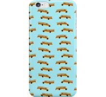American schoolbus wallpaper iPhone Case/Skin