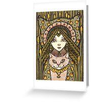 Minnalouche Greeting Card