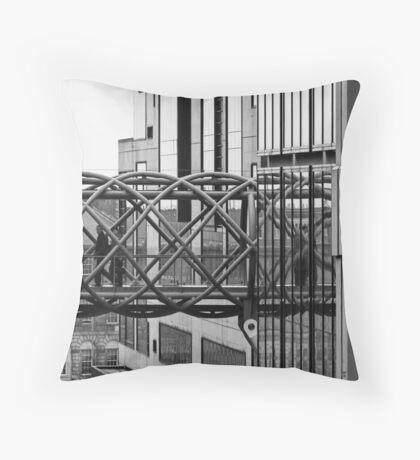 Bendy Bridge Throw Pillow