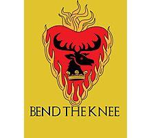Stannis Baratheon Photographic Print