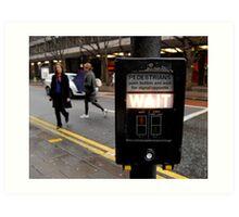 London Crossing Art Print