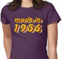 Made in 1956 (Yellow&Red) Womens Fitted T-Shirt