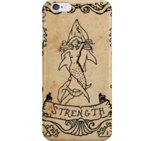 Mermaid Tarot: Strength iPhone Case/Skin