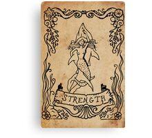 Mermaid Tarot: Strength Canvas Print