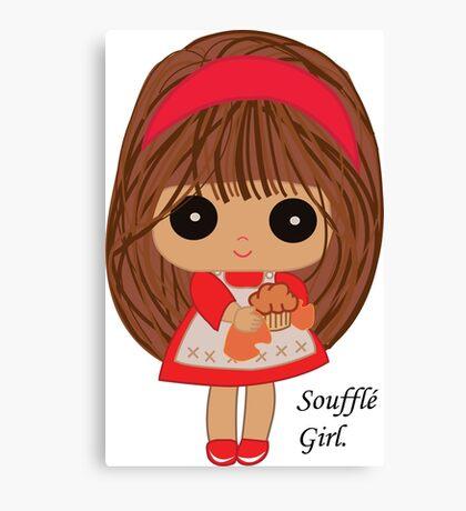 Soufflé Girl Canvas Print