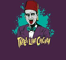 Tastes Like Chicken Womens Fitted T-Shirt