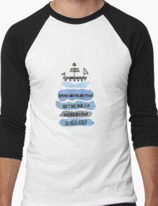 When You Were My Boat Men's Baseball ¾ T-Shirt