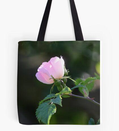 Dog Rose Tote Bag