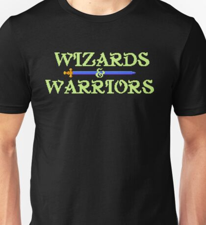 Wizards & Warriors - NES Title Screen Unisex T-Shirt
