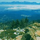 Mountain Top photo painting by randycdesign