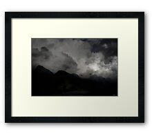 Once was the Journey. Once was the Resting. Framed Print