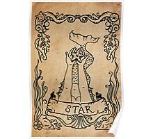 Mermaid Tarot: The Star Poster