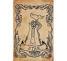 Mermaid Tarot: The Star Photographic Print