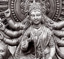 Hindu Godess by snehit
