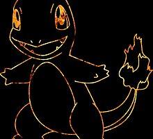 Charmander-Pokémon by Magnate