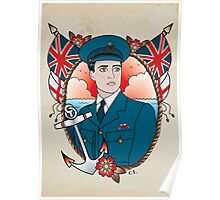 Royal Navy Captain Poster