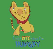 I Only Bite When I'm Hungry Kids Tee