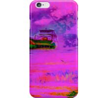 Unexpected pink colorful seascape iPhone Case/Skin