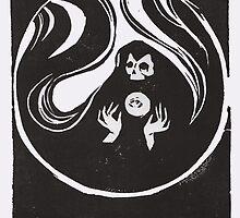 Reaper Linoleum by Meagan Meli