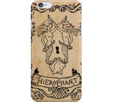Mermaid Tarot: Hierophant iPhone Case/Skin