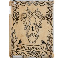 Mermaid Tarot: Hierophant iPad Case/Skin