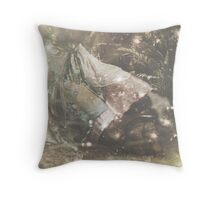 not always enough rainbows or butterflies Throw Pillow