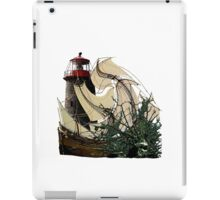A Floundering Pirate Ship iPad Case/Skin