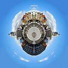 Little Planet: Notts Town Hall by Yhun Suarez
