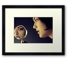 I just don't know  Framed Print