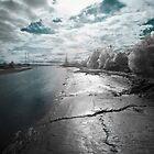 River Ribble, Preston, Lancashire by Emma Tiley